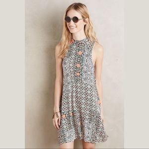 {Anthropologie} Maeve Lilt Swing Dress Small